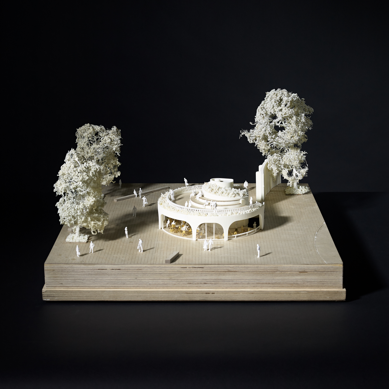Duke of York Restaurant, architectural model